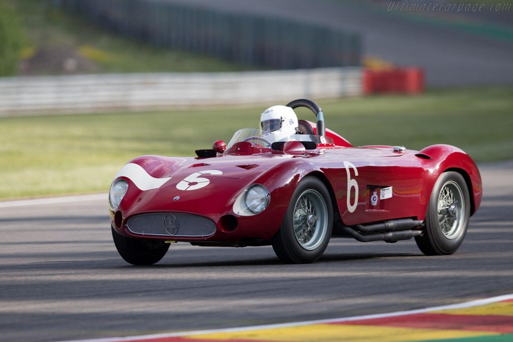 Maserati 300S - Chassis: 3059 - Driver: Carlo Vogele  - 2015 Spa Classic