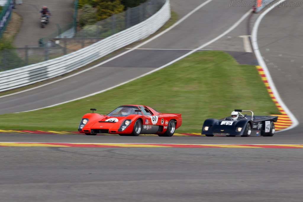 McLaren M6GT - Chassis: 50-31 - Driver: Thomas Studer  - 2015 Spa Classic