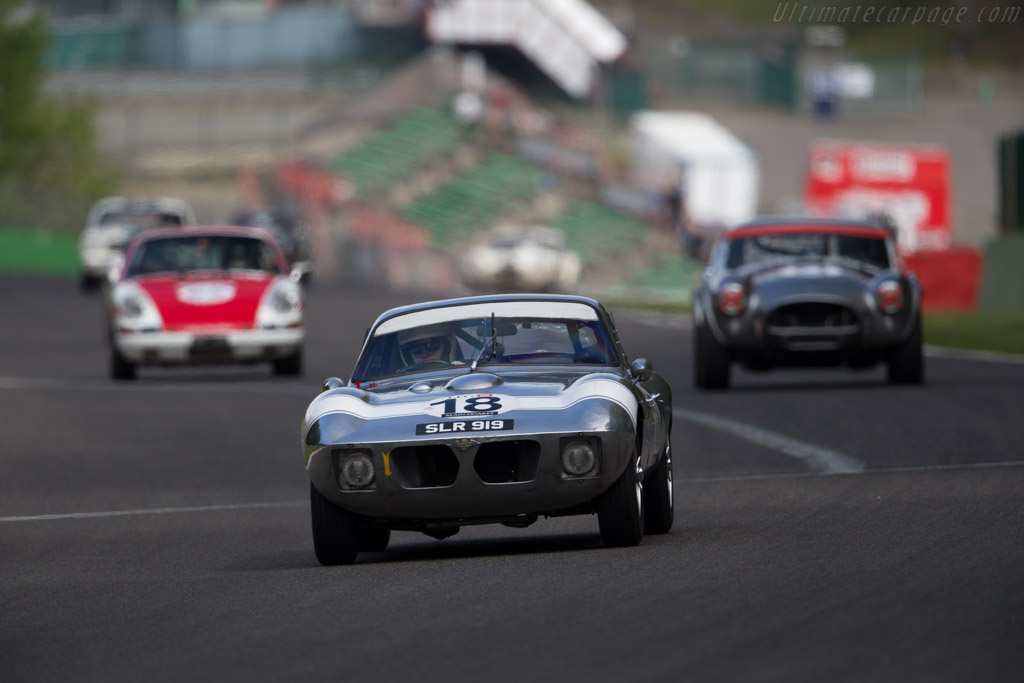 Morgan SLR - Chassis: SLR4 - Driver: John Emberson / Bill Wykeham  - 2015 Spa Classic