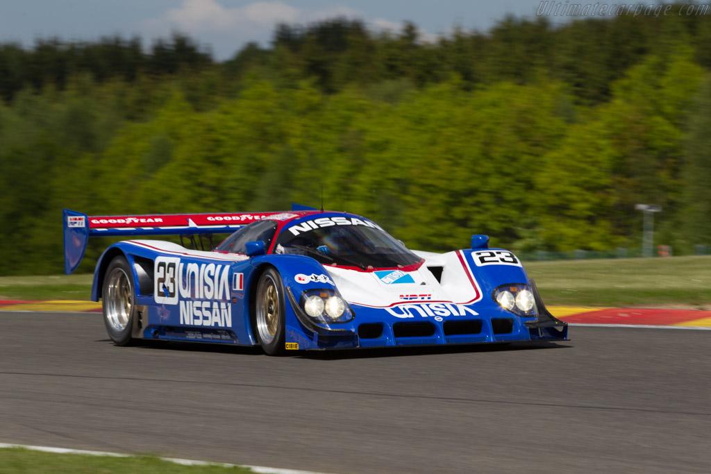 Nissan R90C - Chassis: R90C/5 - Driver: Katsu Kubota  - 2015 Spa Classic