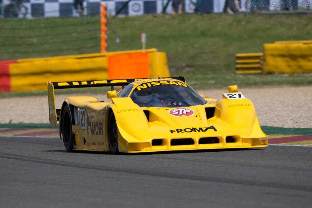 Nissan R91CP - Chassis: R90C/7 - Driver: Bob Berridge  - 2015 Spa Classic