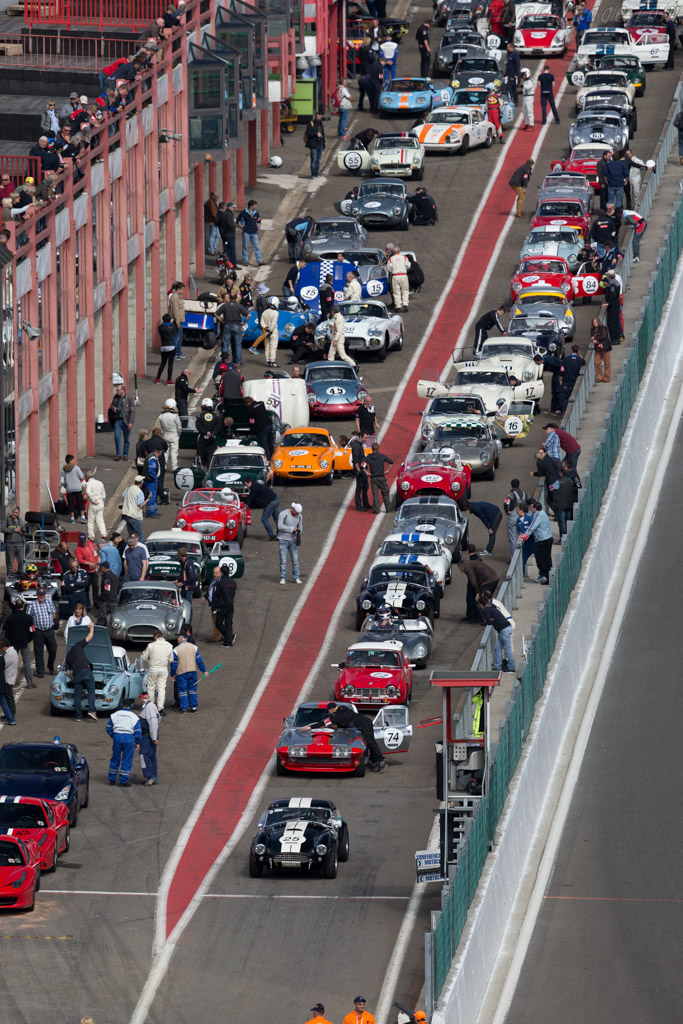 Packed pit lane    - 2015 Spa Classic