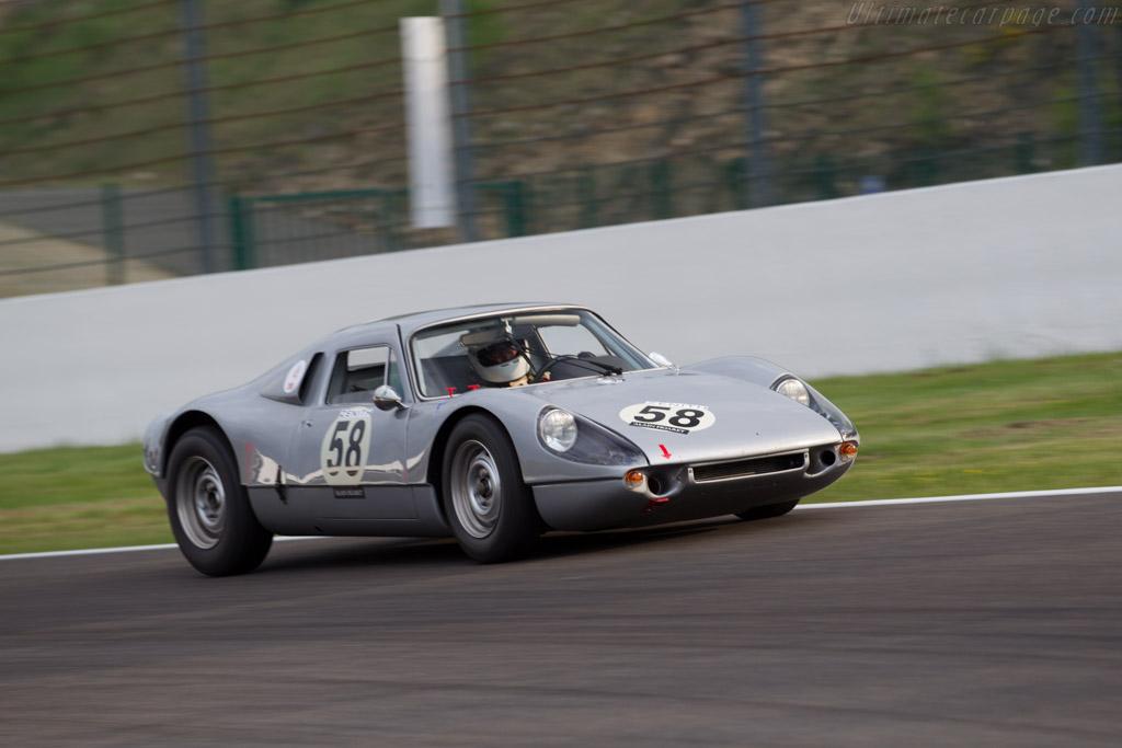 Porsche 904/6 - Chassis: 906-002 - Driver: Carlo Vogele / Yves Vogele  - 2015 Spa Classic