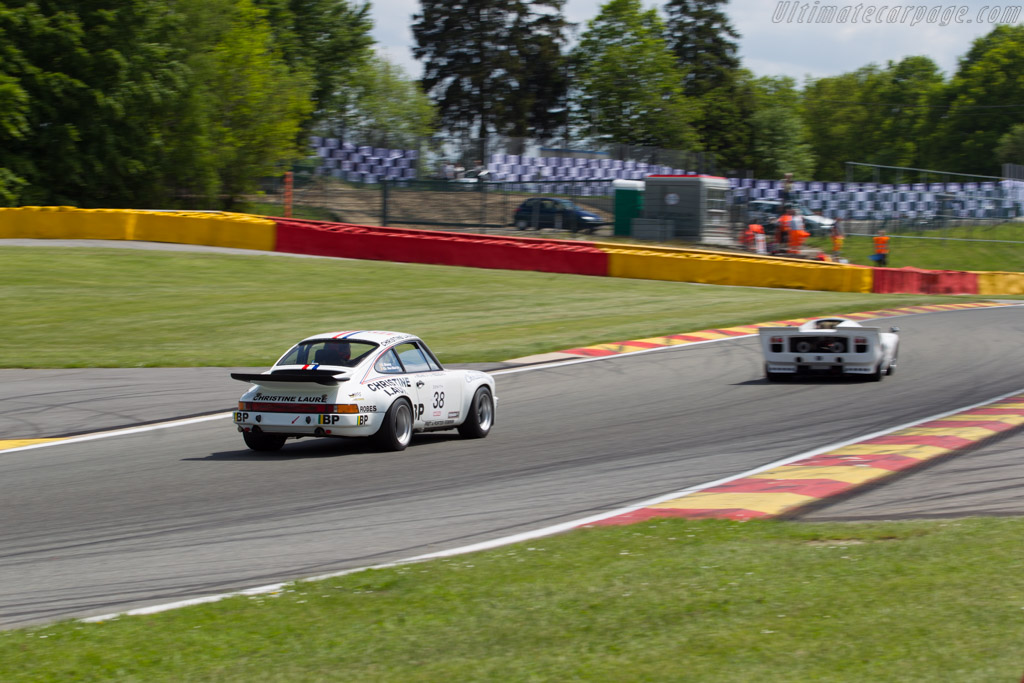 Porsche 911 Carrera RS 3.0 - Chassis: 911 460 9107 - Driver: Christophe van Riet / Fred Bouvy  - 2015 Spa Classic