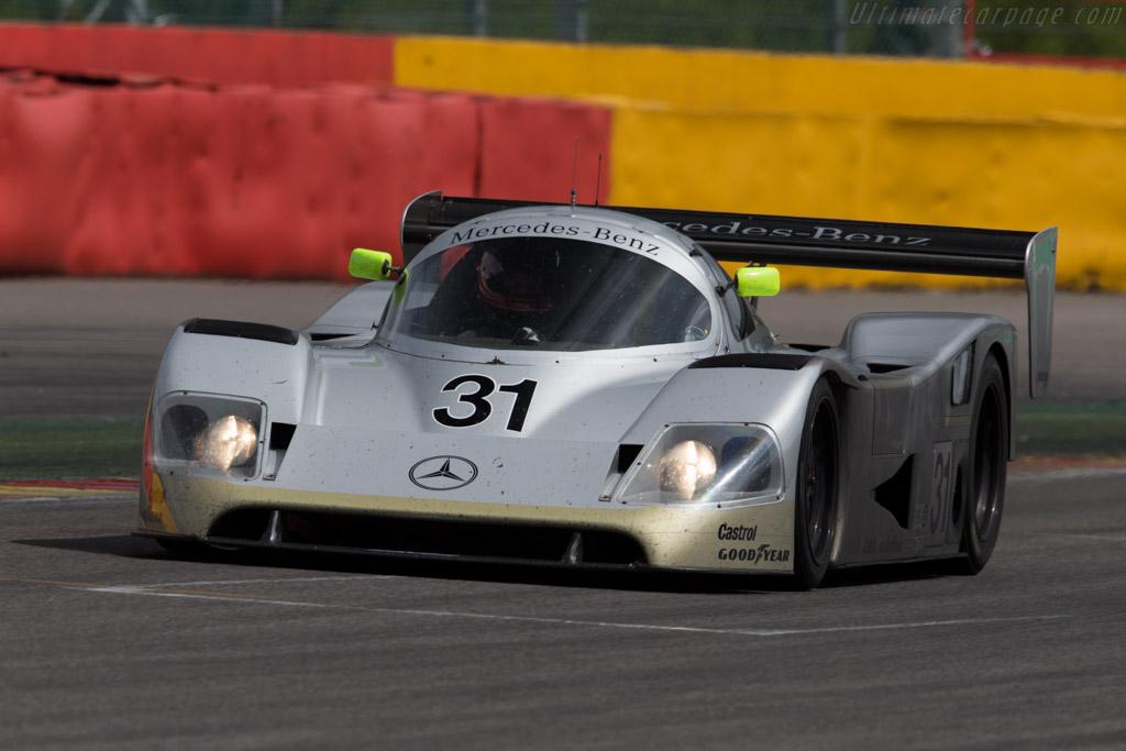 Sauber-Mercedes C11 - Chassis: 89.C11.00 - Driver: Kriton Lendoudis / Rui Aguas  - 2015 Spa Classic