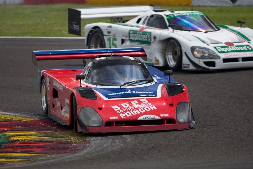 Spice SE89C - Chassis: SE89C-002 - Driver: David Methley  - 2015 Spa Classic
