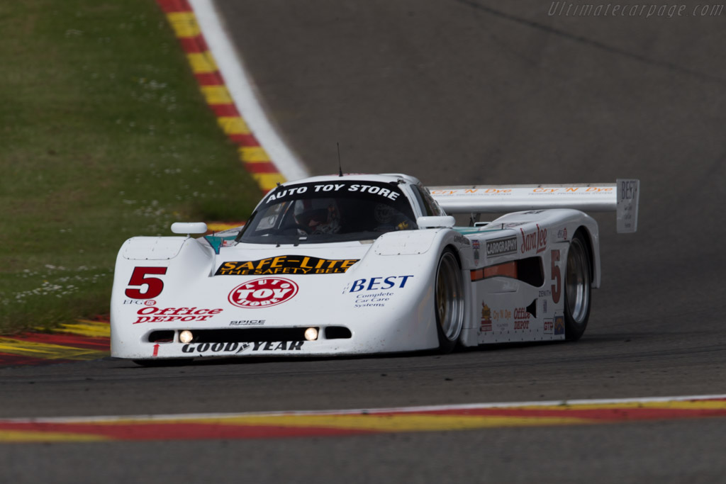 Spice SE90 GTP - Chassis: SE90P-013 - Driver: Steve Tandy / Michael Simpson  - 2015 Spa Classic