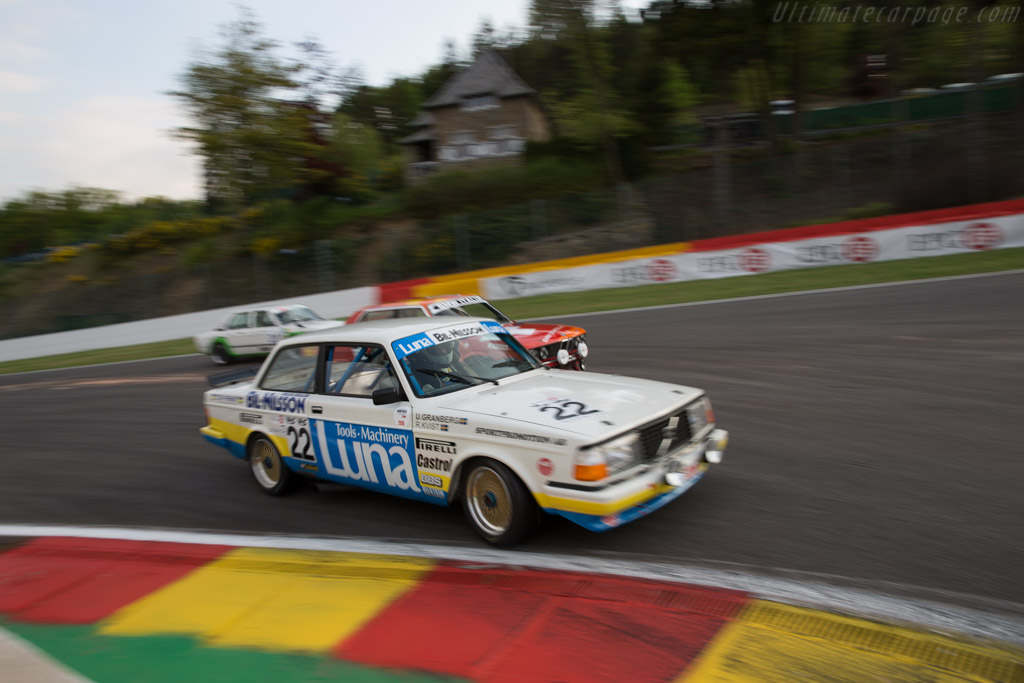 Volvo 240 Turbo - Chassis: 240A 403 - Driver: Andrew Beverley  - 2015 Spa Classic