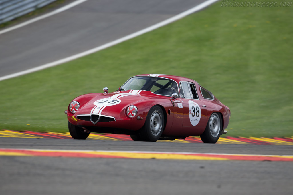 Alfa Romeo TZ - Chassis: AR750098 - Driver: Lucien Guitteny  - 2016 Spa Classic