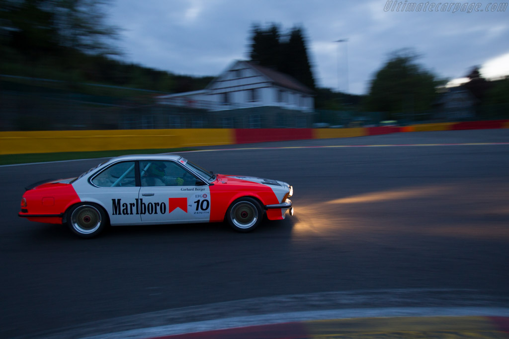 BMW 635 CSi  - Driver: Richard Hope / Geoff Steel  - 2016 Spa Classic