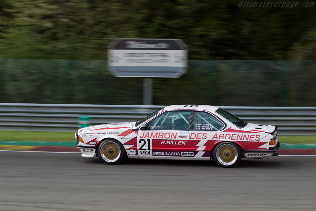 BMW 635 CSi - Chassis: E24 RA1-12 - Driver: Christian Bouriez/ Christophe van Riet  - 2016 Spa Classic