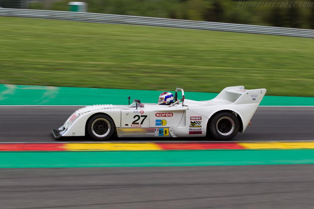 Chevron B31 - Chassis: B31-75-01 - Driver: Ludovic Caron  - 2016 Spa Classic