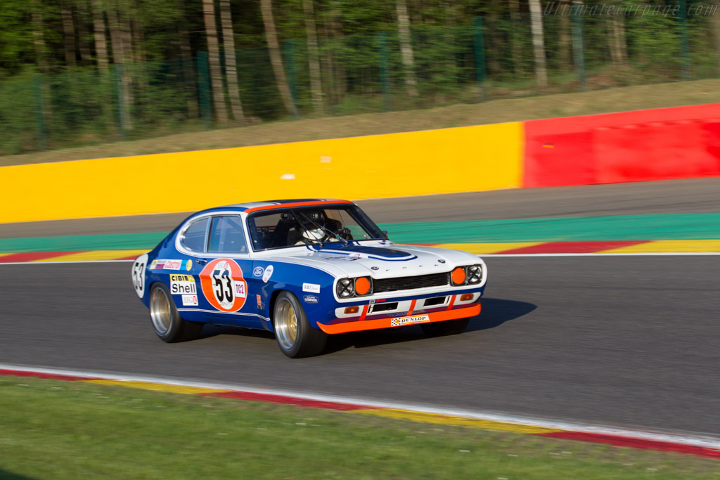 Ford Capri RS 2600 - Chassis: GAECKG45975 - Driver: Greg Caton  - 2016 Spa Classic
