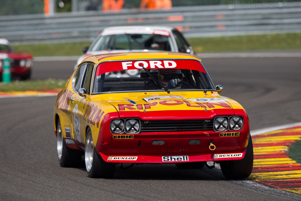 Ford Capri RS 2600 - Chassis: GAECLE42482 - Driver: Yves Scemama  - 2016 Spa Classic
