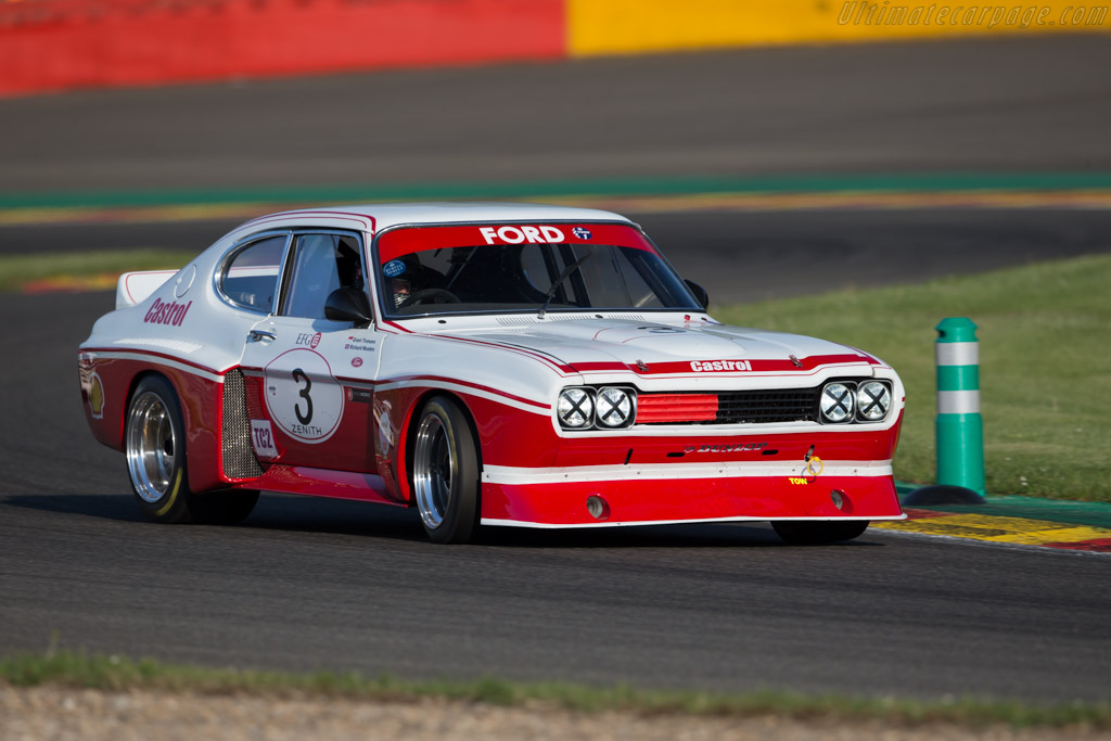 Ford Capri RS Cosworth  - Driver: Grant Tromans / Richard Meaden  - 2016 Spa Classic