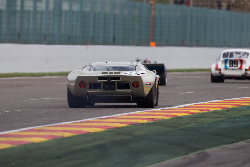 Ford GT40 - Chassis: GT40P/1078 - Driver: Claude Nahum  - 2016 Spa Classic