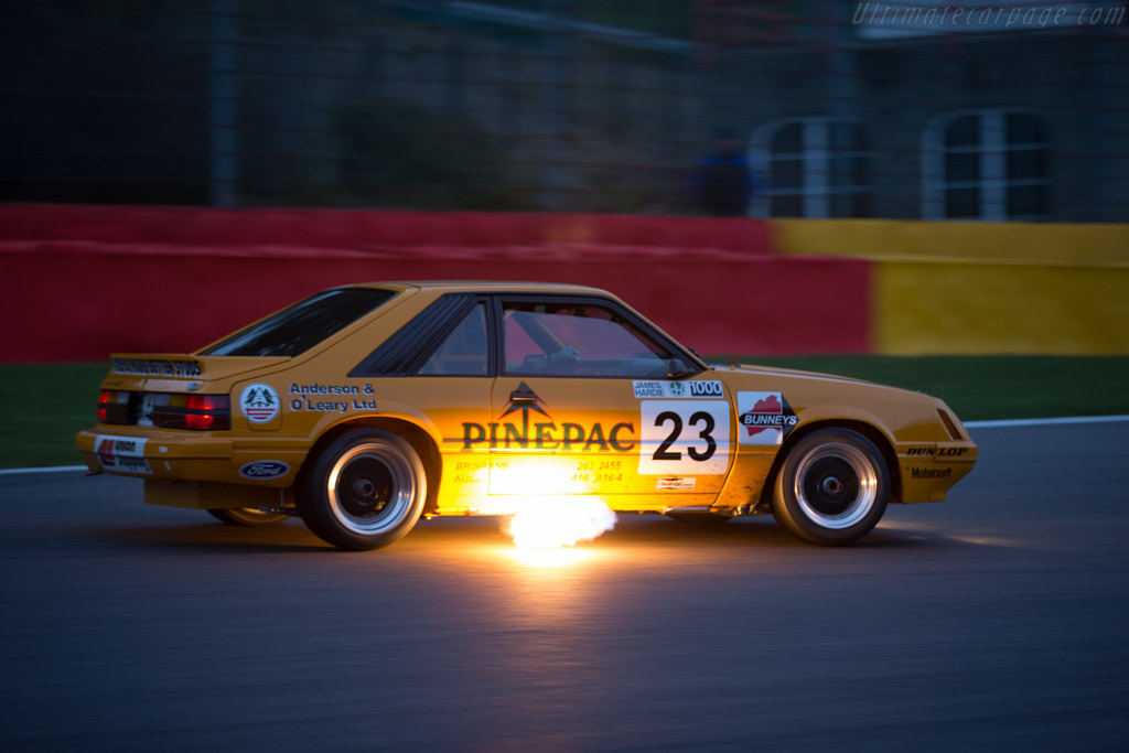 Ford Mustang GT Group A - Chassis: 1FABP23MXEF171869 - Driver: David Huxley / Nigel Greensall  - 2016 Spa Classic