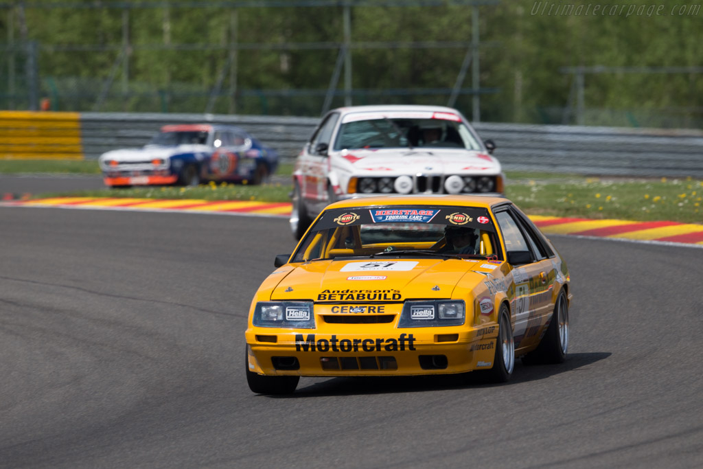Ford Mustang GT Group A - Chassis: 1FABP28MXEF171968 - Driver: Benjamin Poron  - 2016 Spa Classic