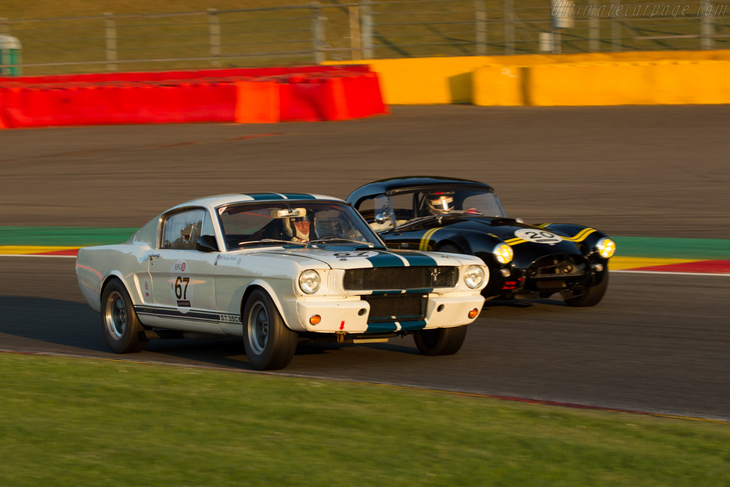 Ford Shelby Mustang GT350 - Chassis: SFM6S508 - Driver: Thomas Studer  - 2016 Spa Classic