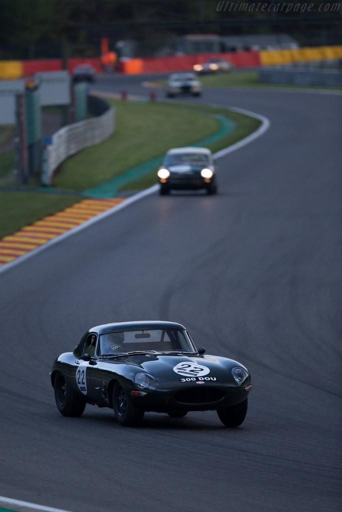 Jaguar E-Type  - Driver: Martin Greaves / Andrew Galashan  - 2016 Spa Classic