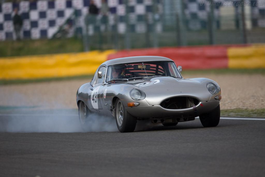 Jaguar E-Type  - Driver: Thierry de Latre du Bosqueau / Guy Pastres  - 2016 Spa Classic