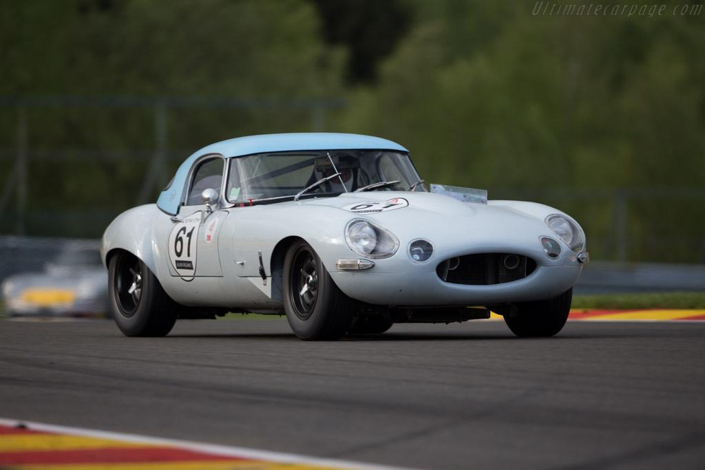 Jaguar E-Type - Chassis: 881541 - Driver: Yann Gay de Berthois / Tony Fouan  - 2016 Spa Classic
