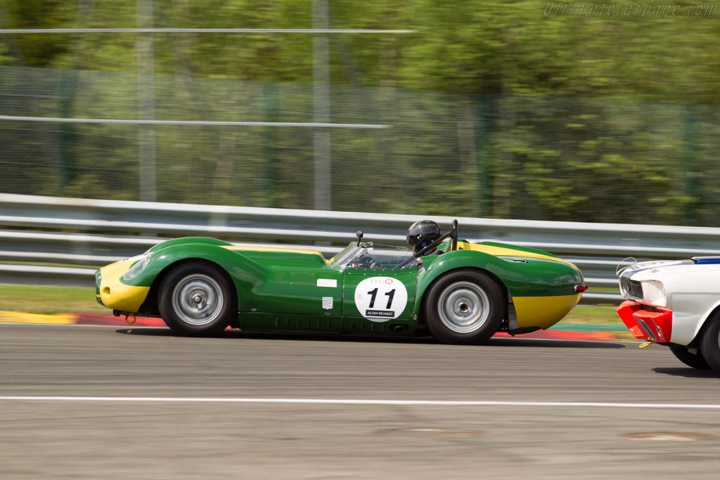 Lister Knobbly Jaguar  - Driver: Yvan Mahe  - 2016 Spa Classic