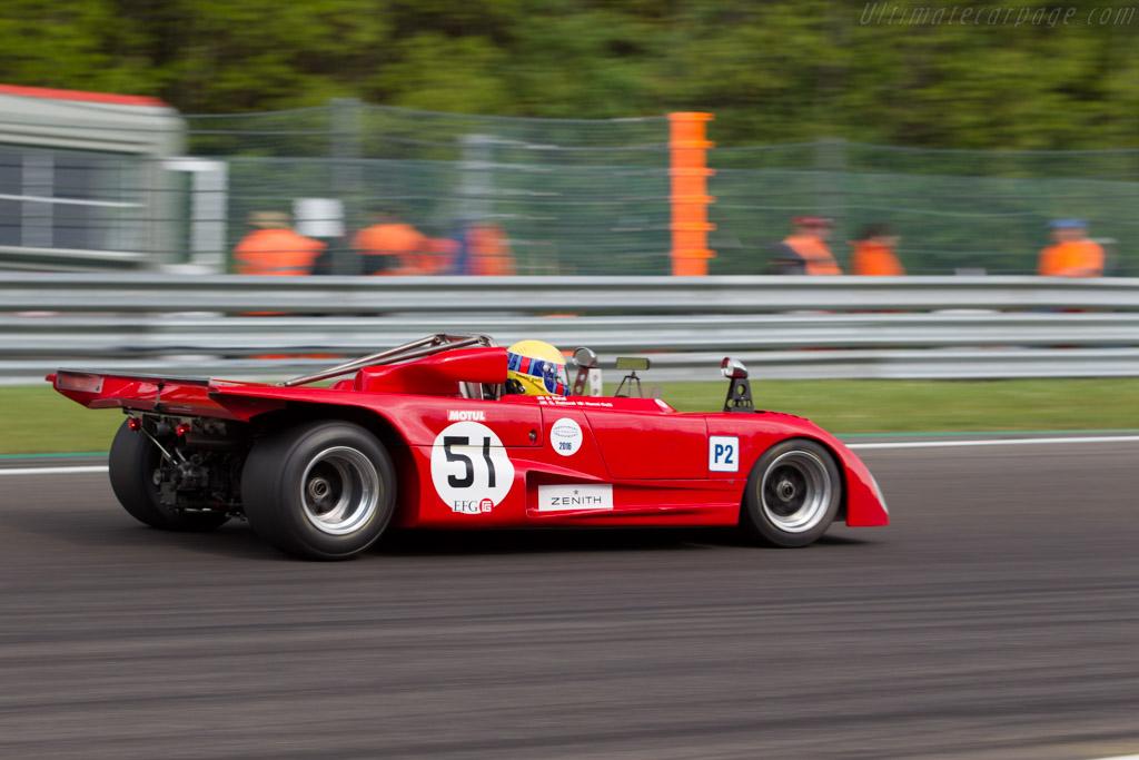 Lola T290 - Chassis: HU34 - Driver: Gianluca Rattazzi / Nanni Galli  - 2016 Spa Classic