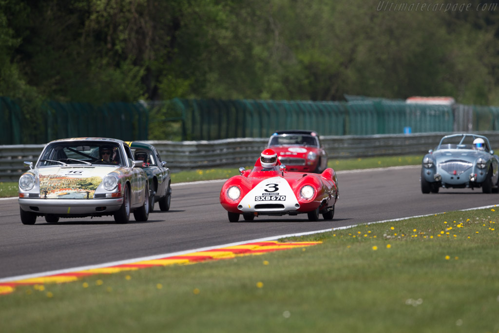 Lotus Eleven - Chassis: 168 - Driver: Serge Kriknoff  - 2016 Spa Classic