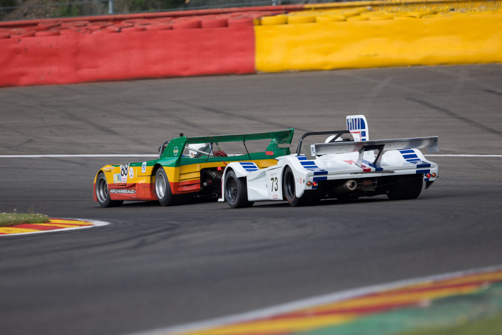March 75S - Chassis: 75S/3 - Driver: Richard Piper / Greg Caton  - 2016 Spa Classic