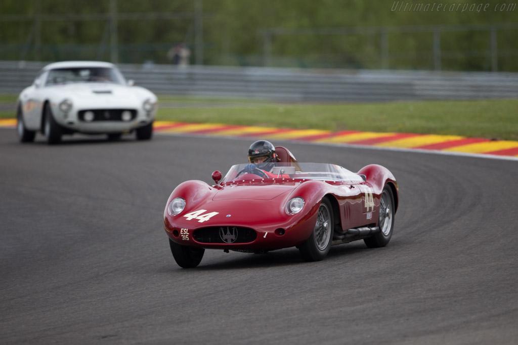 Maserati 250S - Chassis: 2432 - Driver: Richard Wilson  - 2016 Spa Classic