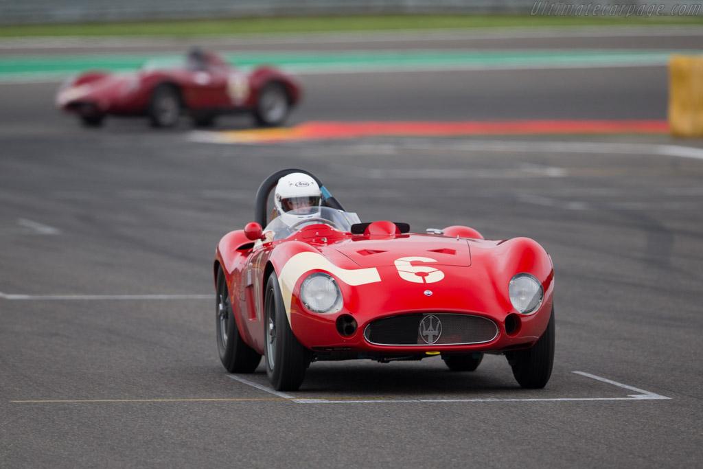 Maserati 300S - Chassis: 3059 - Driver: Carlo Vogele  - 2016 Spa Classic