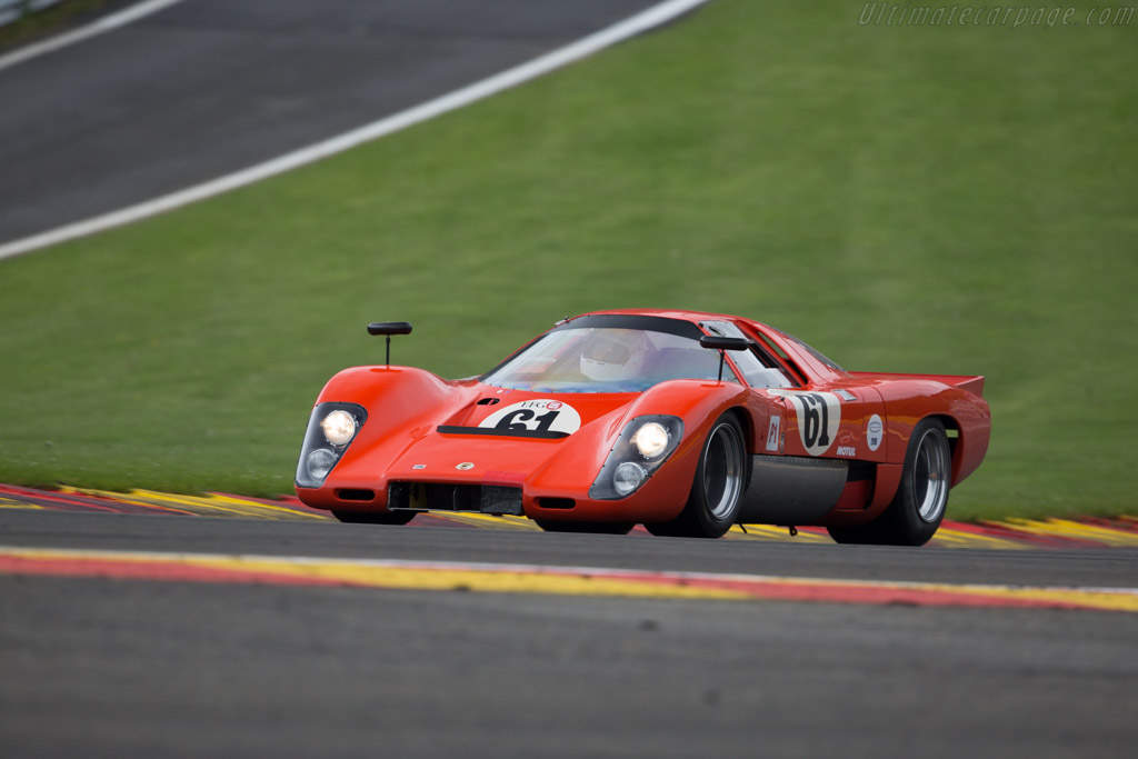 McLaren M6 GT - Chassis: 50-31 - Driver: Thomas Studer  - 2016 Spa Classic