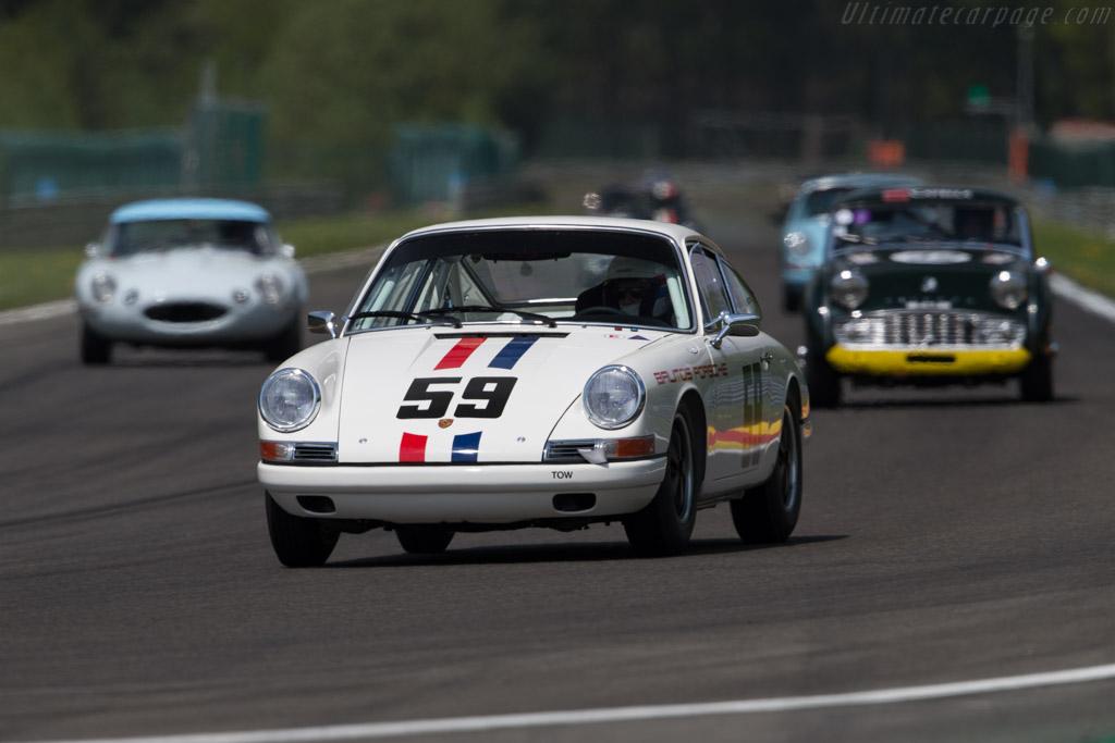 Porsche 911 - Chassis: 301085 - Driver: David Huxley / Nigel Greensall  - 2016 Spa Classic
