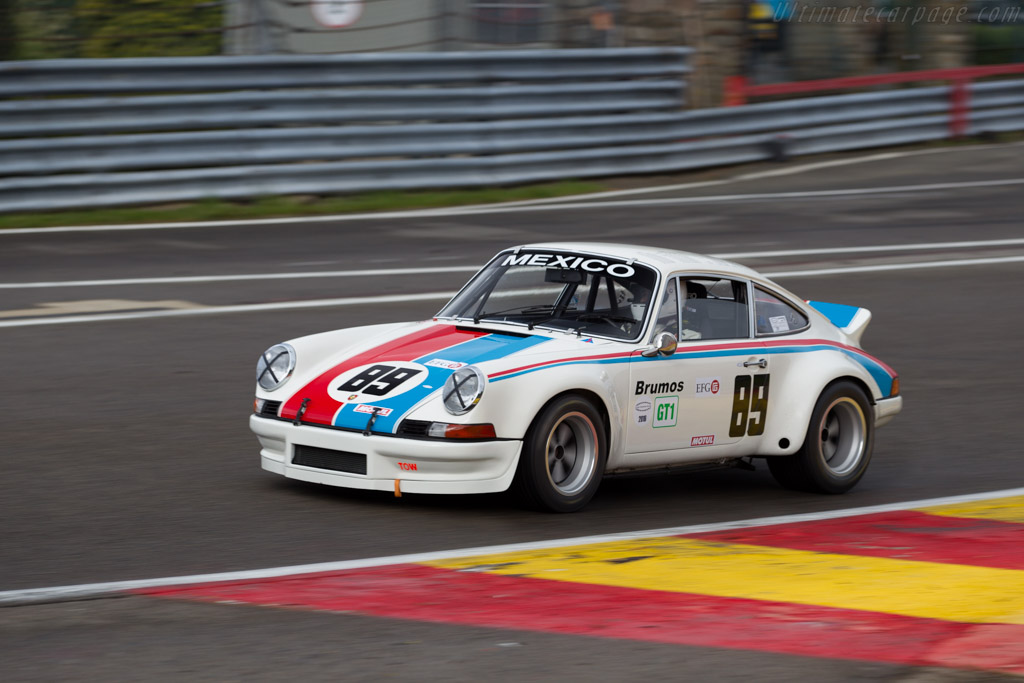 Porsche 911 Carrera RSR 2.8 - Chassis: 911 360 0865 - Driver: Rafal Ahmed  - 2016 Spa Classic