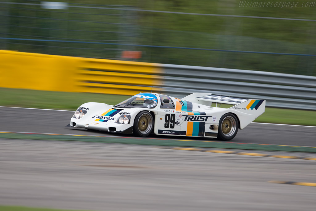 Porsche 962C - Chassis: 962-166 - Driver: Mischa Strijder  - 2016 Spa Classic