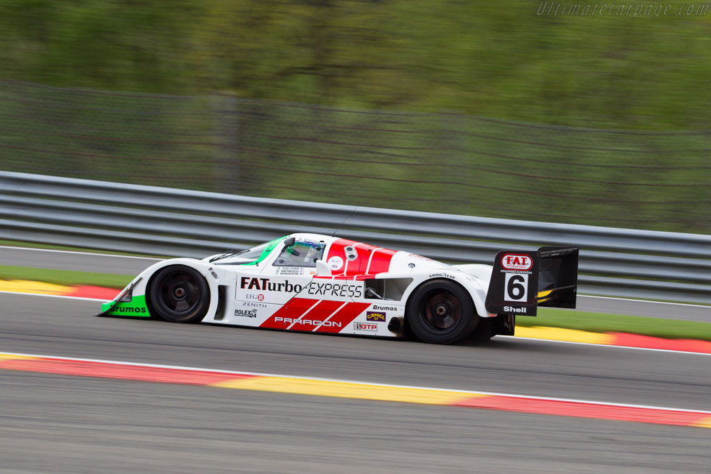 Porsche 962C - Chassis: 962-011 - Driver: Mark Sumpter  - 2016 Spa Classic