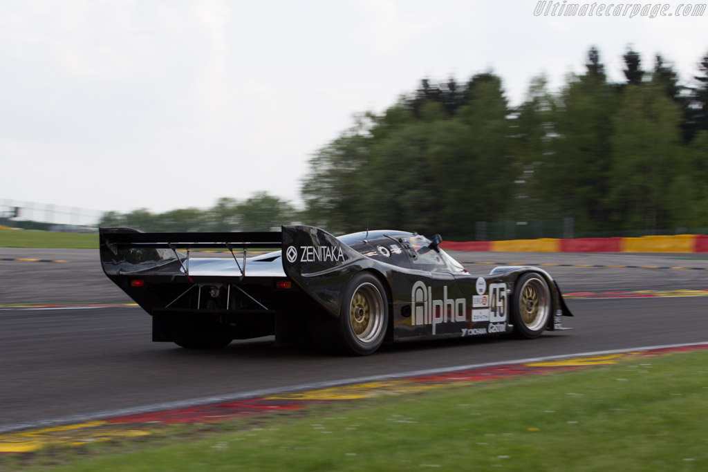 Porsche 962C - Chassis: 962-154 - Driver: Pierre-Alain France / Erwin France  - 2016 Spa Classic