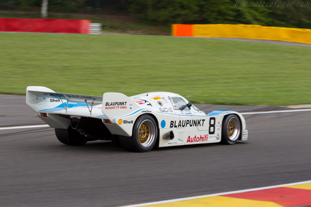 Porsche 962C - Chassis: 962-116 - Driver: George Nakas  - 2016 Spa Classic