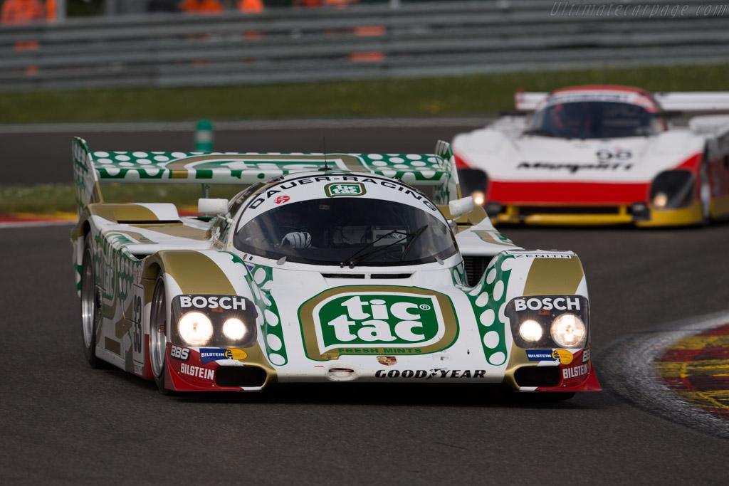 Porsche 962C - Chassis: 962-141 - Driver: Henrik Lindberg  - 2016 Spa Classic
