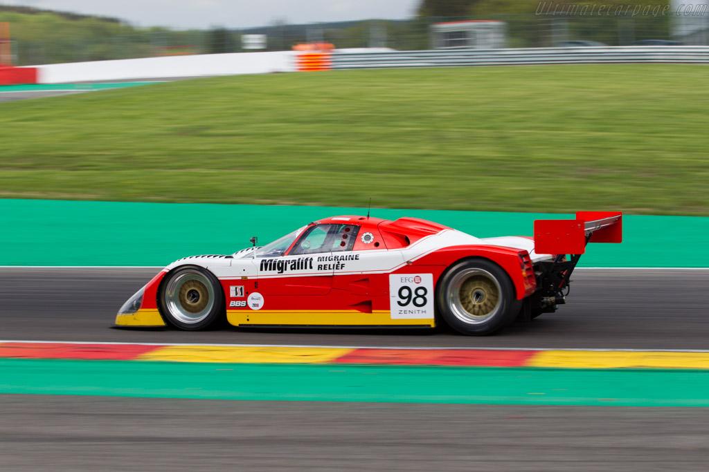 Spice SE90C - Chassis: SE90C-016 - Driver: Eric DeDoncker  - 2016 Spa Classic