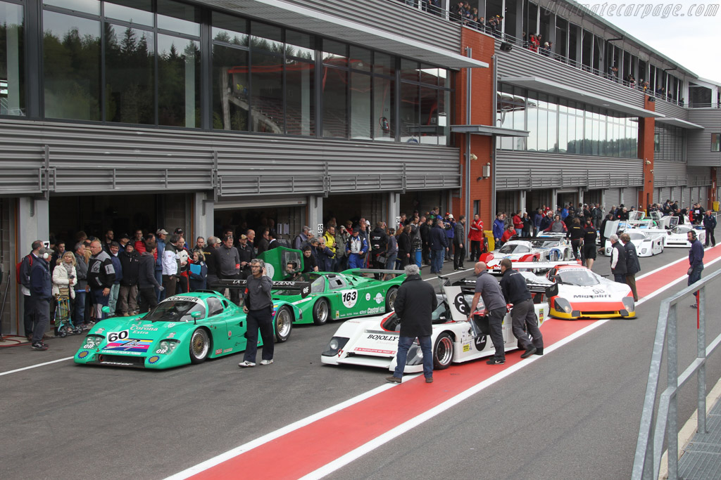 Welcome to the Circuit Spa-Francorchamps - Chassis: 85G-6 - Entrant: Christian Perrier  - 2016 Spa Classic