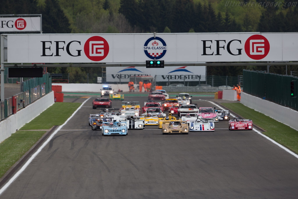 Welcome to the Circuit Spa-Francorchamps - Chassis: B23-73-21 - Driver: Martin O'Connell  - 2016 Spa Classic