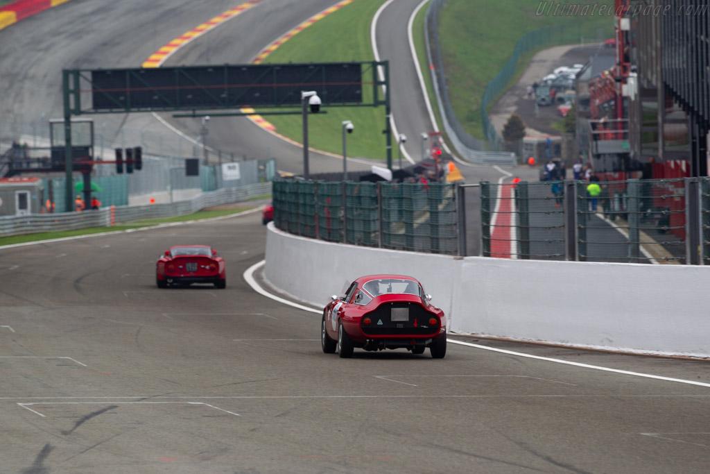 Alfa Romeo TZ - Chassis: AR10511 750004 - Driver: Michel Wanty / Jean-Pierre Vandewauwer - 2019 Spa Classic