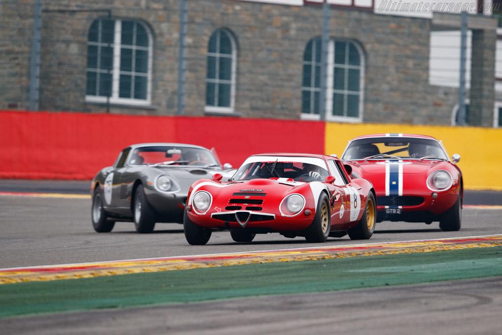 Alfa Romeo TZ 2  - Driver: Jean Clement - 2019 Spa Classic