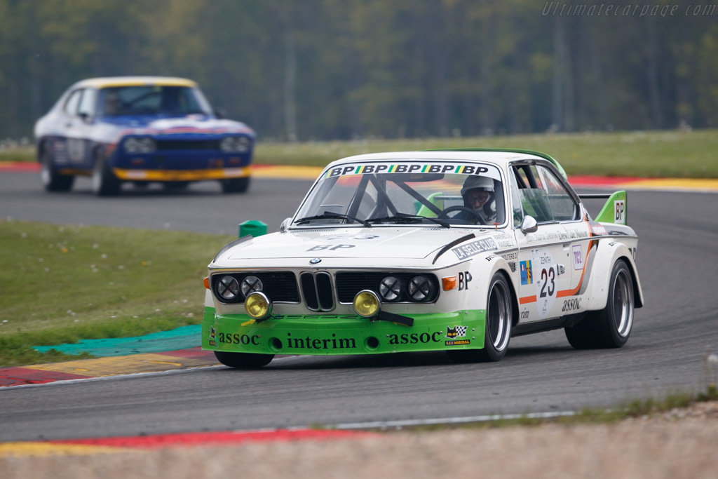 BMW 3.0 CSL  - Driver: Eric Everard - 2019 Spa Classic