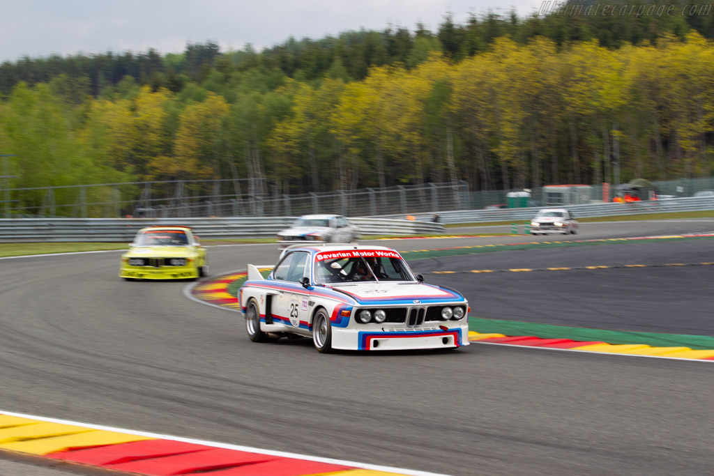 BMW 3.0 CSL - Chassis: 4300096 - Driver: Christian Traber - 2019 Spa Classic