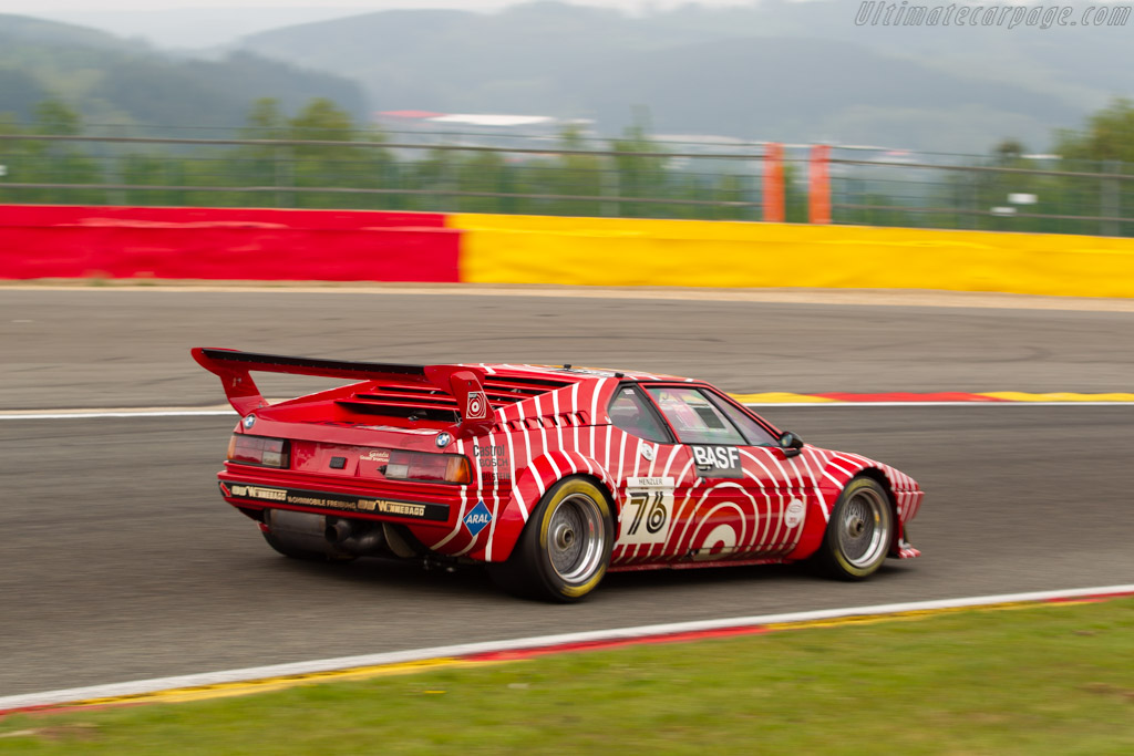 BMW M1 Procar - Chassis: 4301076 - Driver: Guenther Schindler - 2019 Spa Classic