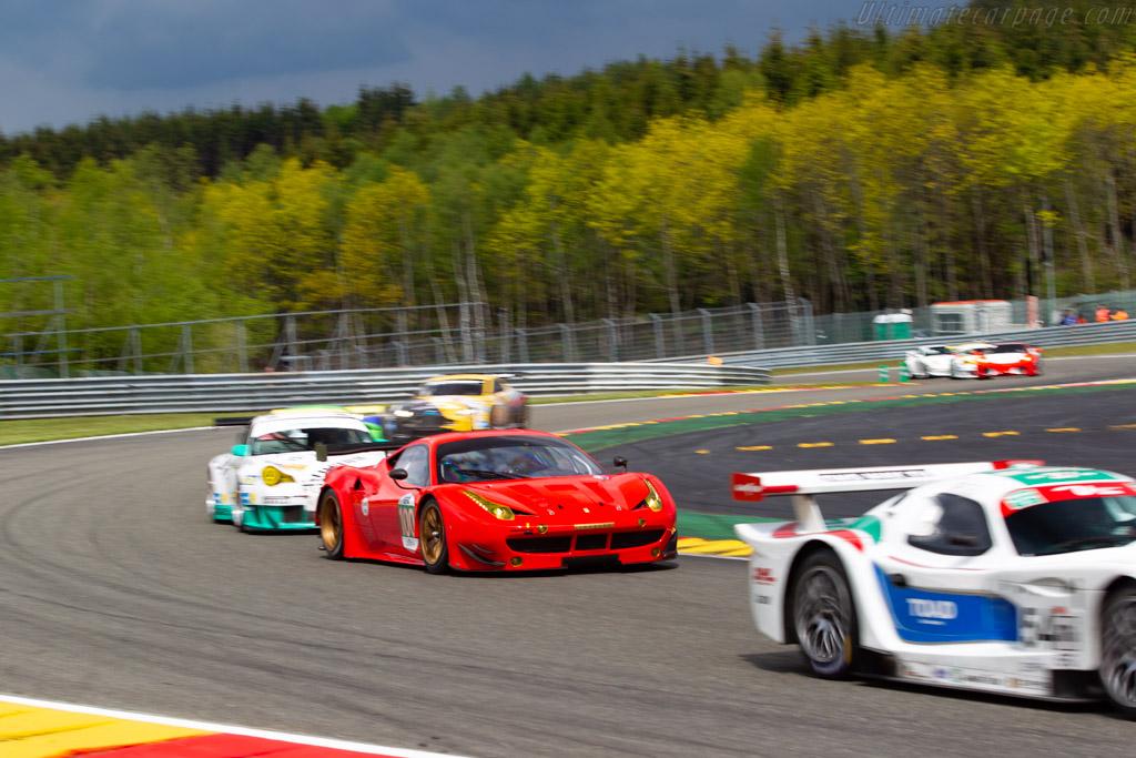 Ferrari 458 GTE - Chassis: 2842 - Driver: Henrik Lindberg / Tina Marianne Kok - 2019 Spa Classic