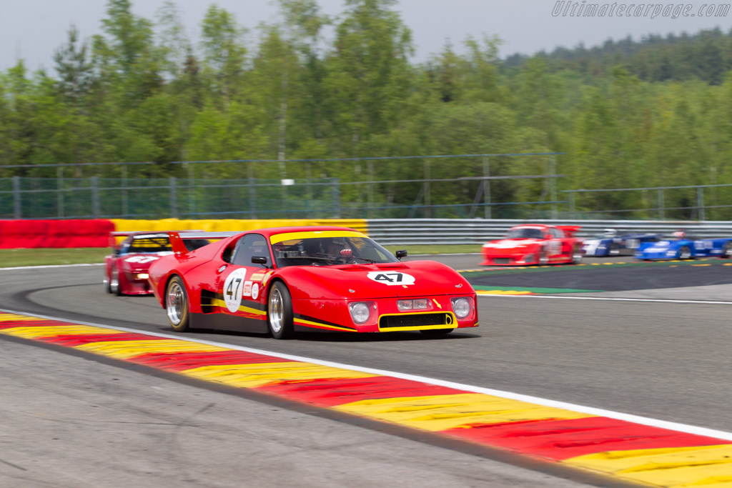 Ferrari 512 BBLM - Chassis: 44023 - Driver: Jérémy Lancksweert / Christophe Van Riet - 2019 Spa Classic